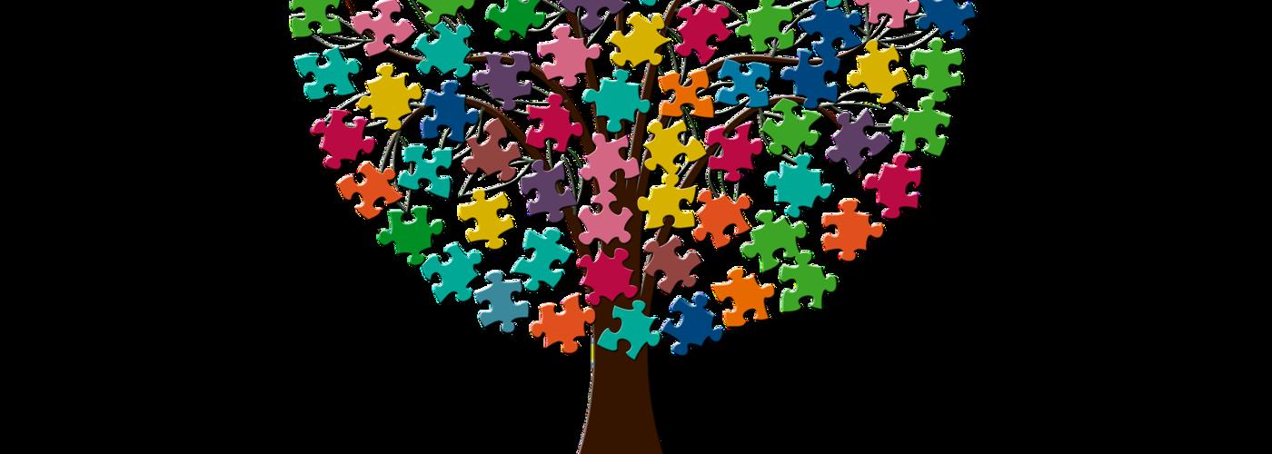 Gemeinschaft_bunte Puzzleteile an Baum (pixabay_tree-2718836)_1920x1280